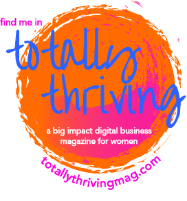 Totally Thriving Magazine Contributor Badge
