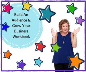 Grow Your Business | Marketing Coach Perth | Build An Audience Workbook