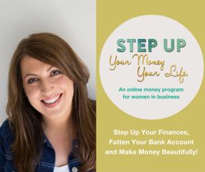 STEP UP Money Program Sylvia Chierchia Business Coach Perth