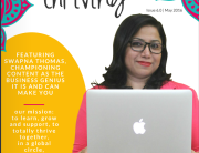 Totally Thriving May 2016 Cover | Swapna Thomas | Free Business Magazine