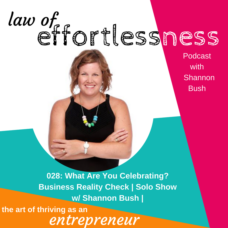 LOE Podcast 028 What are you celebrating_ Business Reality Check _ Shannon Bush