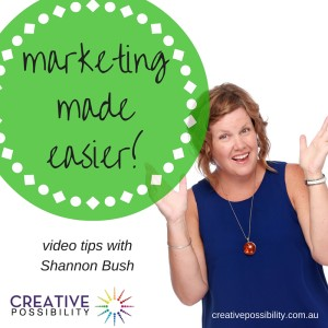 marketing made easier video | Getting Attention With Your Marketing | business coach shannon bush