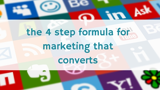 4 step marketing formula | business coach Perth | Marketing strategy