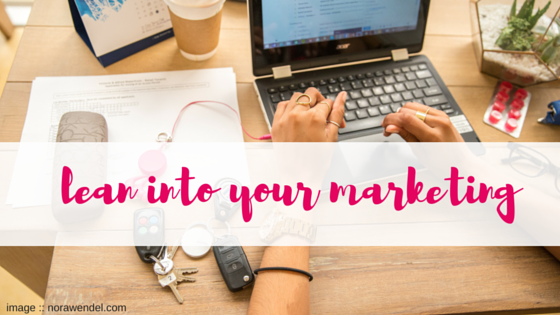 lean into your marketing | business coachin Perth | Shannon Bush | markeitng training