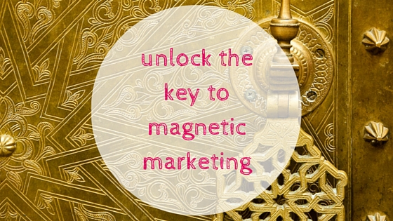 key to magnetic marketing | business coach perth | shannon bush