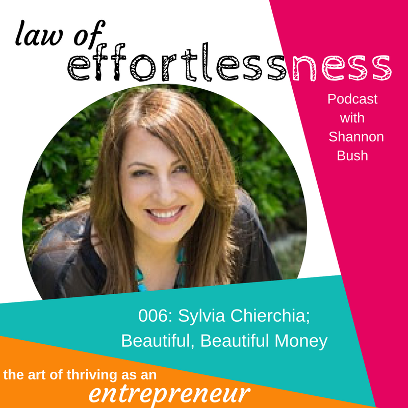 LOE-Podcast-006-Beautiful Money | Sylvia-Chierchia