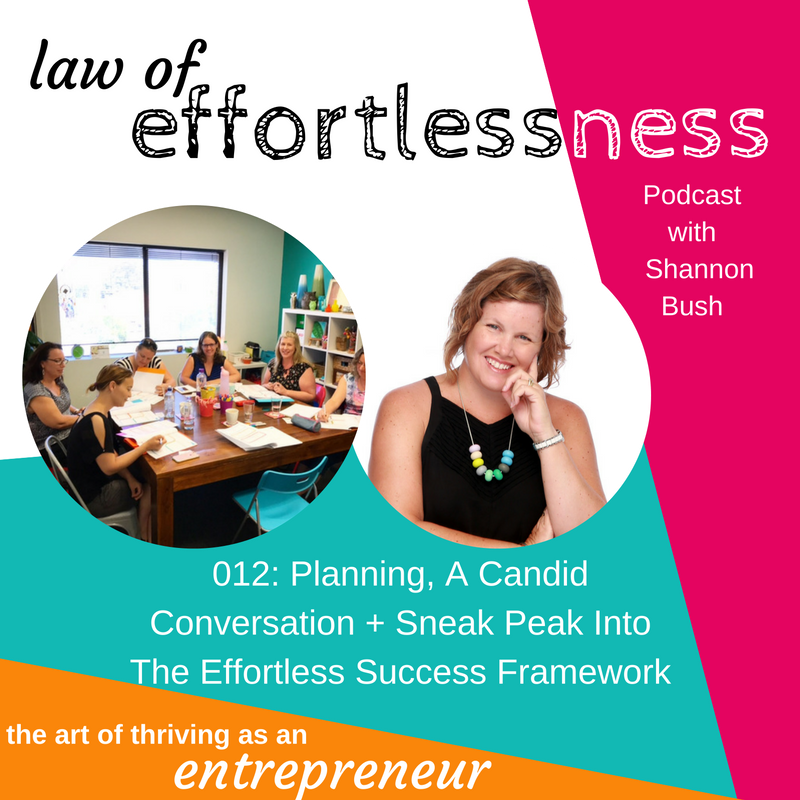 LOE 012 Planning A Candid Conversation | Business Coach Perth Business Planning