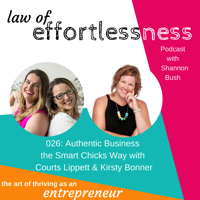 LOE 026 Authentic Business the Smart Chicks Way _ Courts & Kirsty