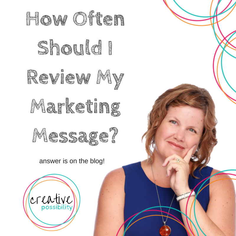 Blog Review My Marketing Message - Creative Possibility | Shannon Bush Business Marketing Coach Perth