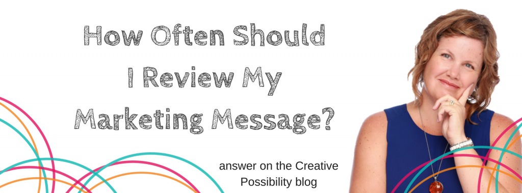 Blog Review My Marketing Message - Creative Possibility | Shannon Bush Marketing Coaching Perth
