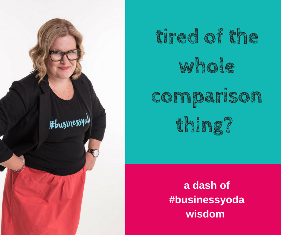 The Whole Comparison Thing | Healthy Comparison | Creative Possibility Business Coaching | Shannon Bush | Business Coaching Marketing Perth