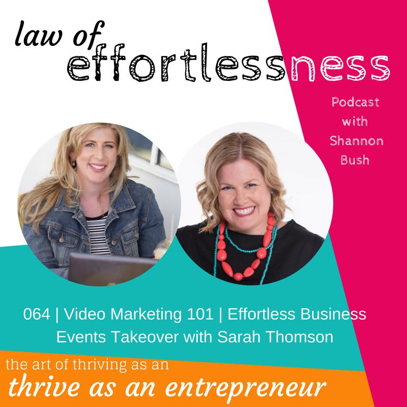 Effortless Business Events Digital Edition Video Marketing Business Coach Shannon Bush