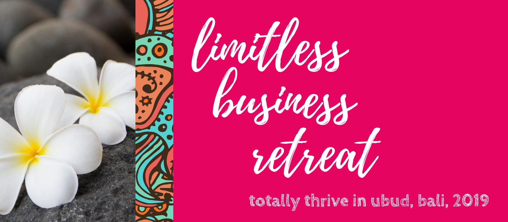 Shannon Bush | limitless business retreat for women Ubud Bali 2019