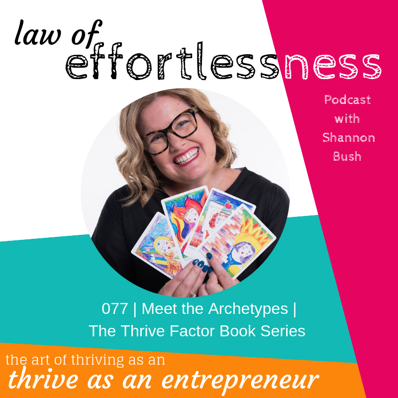 LOE Podcast Thrive Factor Book Series Marketing Magnetic Business Coach Perth Shannnn Bush