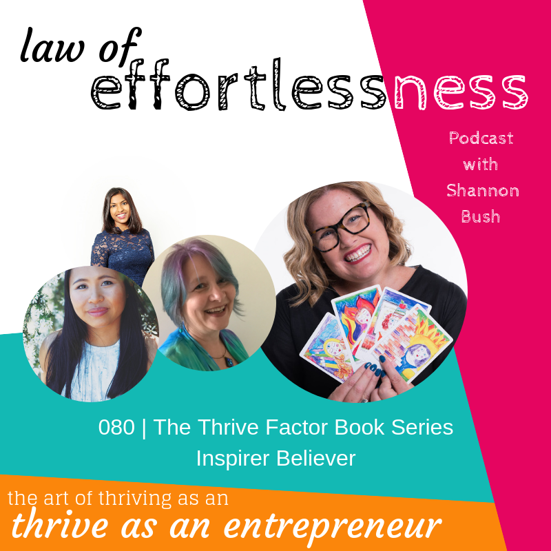 Inspirer Believer Archetypes The Thrive Factor Book Coach Mentor Shannon Bush Perth