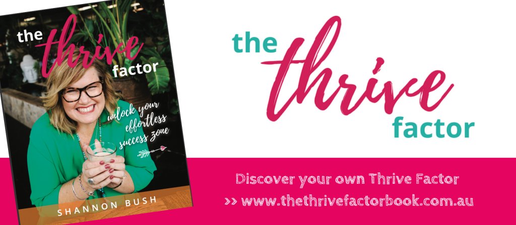 The Thrive Factor Book Banner 1