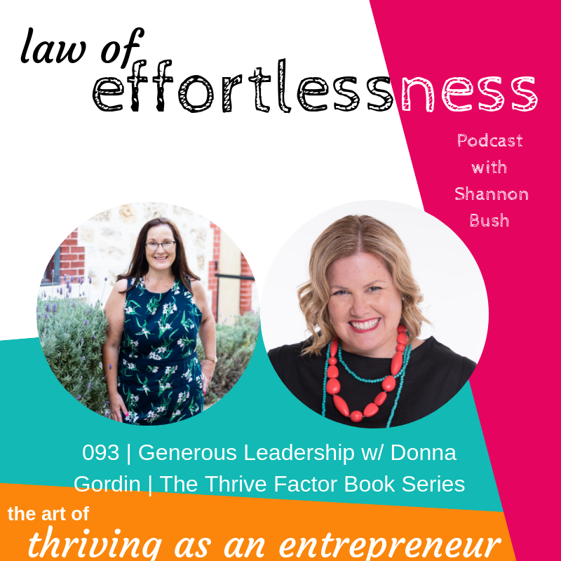 Queen Ruler Advocate Rescuer Inspirer Believer Home2Home Donna Gordin Business Marketing Coach Perth Shannon Bush The Thrive Factor Book LOE Podcast