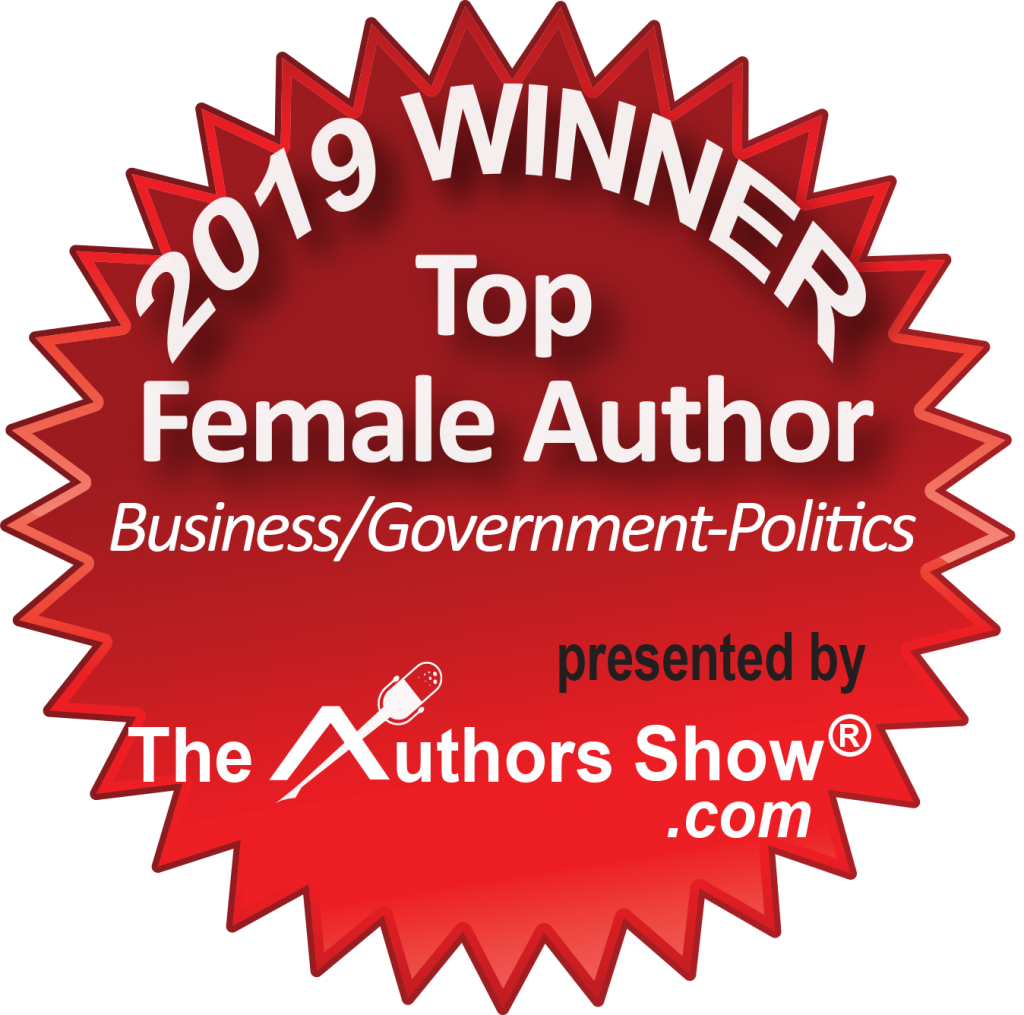 2019 Top Female Author - Authors Show Awards - The Thrive Factor - Business Book for women